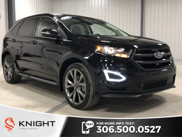 Pre Owned 2016 Ford Edge Sport Auto Awd Leather Sunroof Navi Htd Seats Certified Low Km Awd